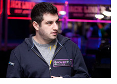 Phil Galfond at the World Series of Poker - Standing tall