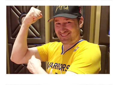 Phil Hellmuth - Las Vegas - 2015 - Aria hat