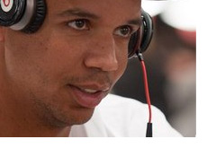 Phil Ivey with Dr. Dre headphones