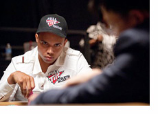 Phil Ivey looking serious