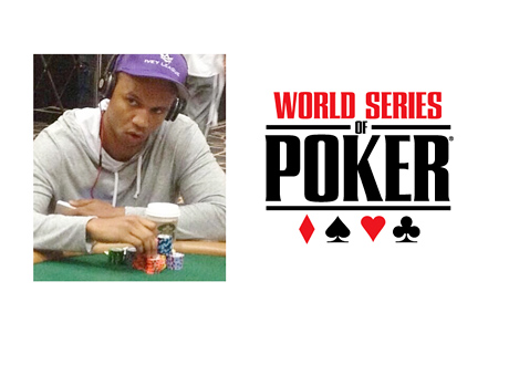 Phil Ivey at the 2014 World Series of Poker - via Instagram