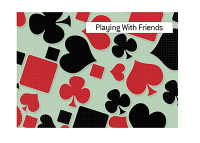 The King answers the often asked question - Can I play poker online vs. friends?