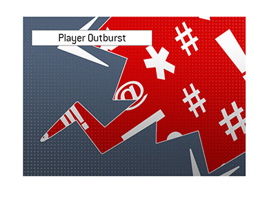 A popular player has another outburst and the poker community is critical about it.