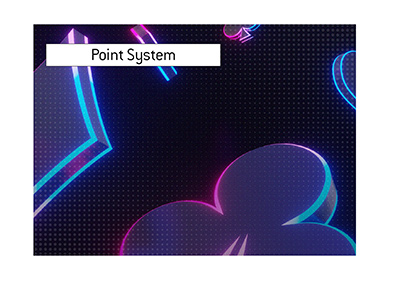 The poker player point system is being introduced.