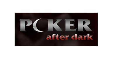 Poker After Dark - Logo - 2017 version - Moon in place of O