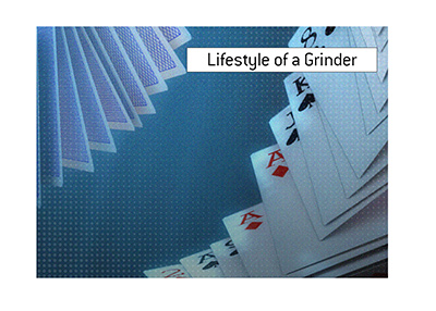 The lifestyle of a poker grinder is a demand one.  Sacrifices must be made.  Is it worth it?  The King takes a deeper look.