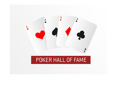 Poker Hall of Fame - Class of 2018 - Graphical display - Alt logo.