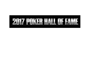 2017 Poker Hall of Fame - Text logo