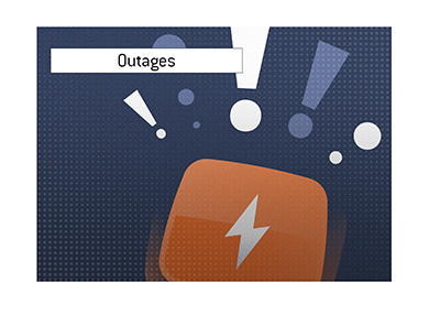 Poker outages have been a common occurrence lately.  Why?