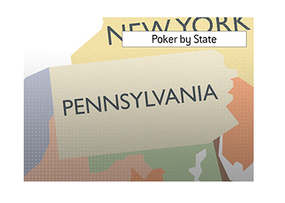 Online poker situation by state:  Pennsylvania.  What is the latest when it comes to legalization?  What are the latest numbers?