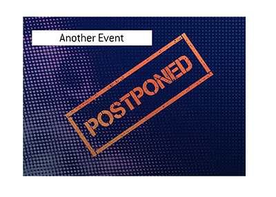 A North American poker tournament has been postponed due to health concerns.