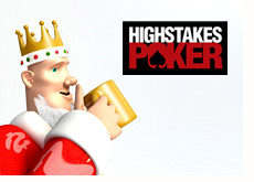 poker king and the high stakes poker logo