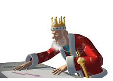 -- king doing research - party gaming - poker revenues down --
