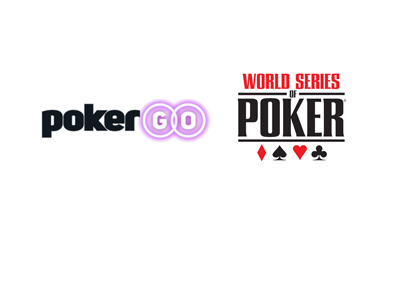 PokerGO and WSOP (World Series of Poker) logos.  Year is 2018.