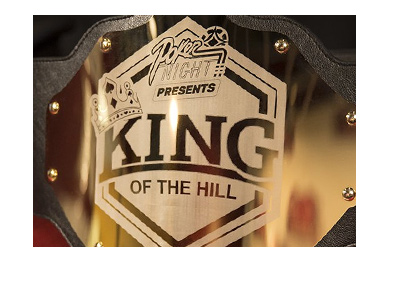 The King of the Hill gold belt - Poker Night.