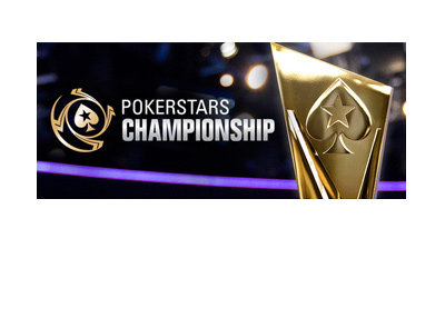 Pokerstars Championship - Year 2017 - Promo graphic.