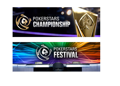 The Pokerstars Championship and Pokerstars Festival - New branding / logos / events - Year 2016