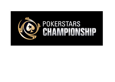 Pokerstars Championship - Black background - Year is 2017.