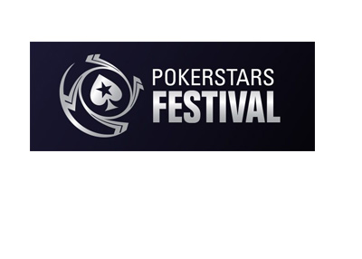 Pokerstars Festival - Logo - Black colour - Year 2017.