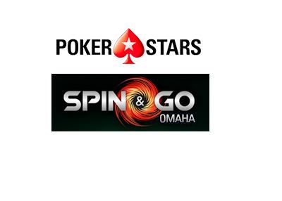 Pokerstars Spin & Go Omaha - Logo / poster.