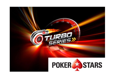 Pokerstars Turbo Series - Logo and graphic - The year is 2018.