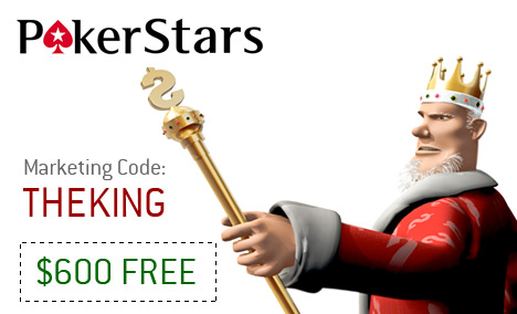 The King presents - Pokerstars Marketing Code
