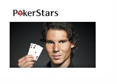 Rafael Nadal Signs with Pokerstars