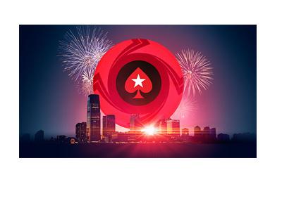 Pokerstars New Jersey - Celebration graphic