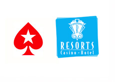 Pokerstars and Resorts Casino Hotel - Logos