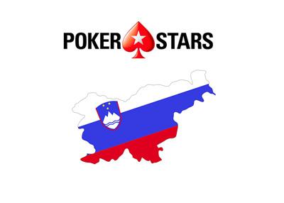 Pokerstars Slovenia - Poker / logo composite