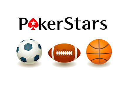 Pokerstars Logo - Sports Balls - Soccer, American Football and Basketball - Concept