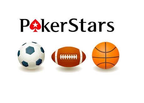 Pokerstars Logo - Sports Balls - Soccer, American Football and Basketball - Concept