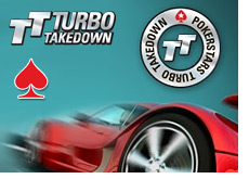 pokerstars tournament - turbo takedown - 1 million dollars - poker stars - logo - promo
