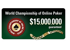 pokerstars world series of online poker - logo - wcoop