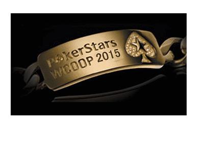World Championship of Online Poker (WCOOP) 2015 - Bracelet by Pokerstars