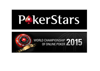 World Championship of Online Poker by Pokerstars - Year 2015 - Logo