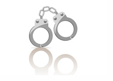 Police Cuffs - Illustration
