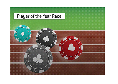 The Player of the Year race is very much on in 2019.  Illustration.