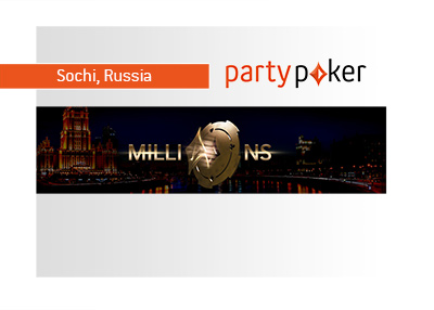Party Poker - Millions - 2018 - Sochi, Russia - Tournament imagery.