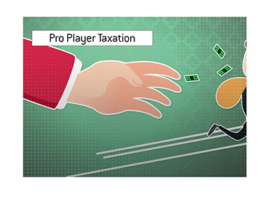 The taxman is coming after professional poker winnings in Canada.