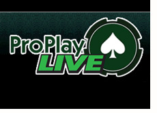 company logo - pro play live
