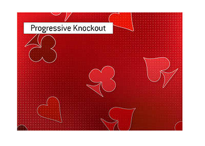 The progressive knockout events.