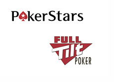 Pokerstars and Full Tilt logos
