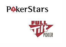Pokerstars and Full Tilt logos