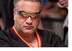 Randy Dorfman looking very very serious