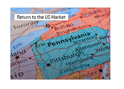 Poker is slowly returning to the US market.  Pennsylvania is in!
