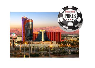 Rio Casino - Las Vegas, Nevada - Photo taken at dusk - World Series of Poker logo - WSOP