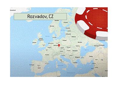 Rozvadov in Chech Republic has been announced as the permanent base for the World Series of Poker Europe.