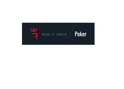 Run it Once - Poker - preliminary logo