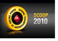 -- scoop 2010 - logo - Spring Championship of Online Poker --